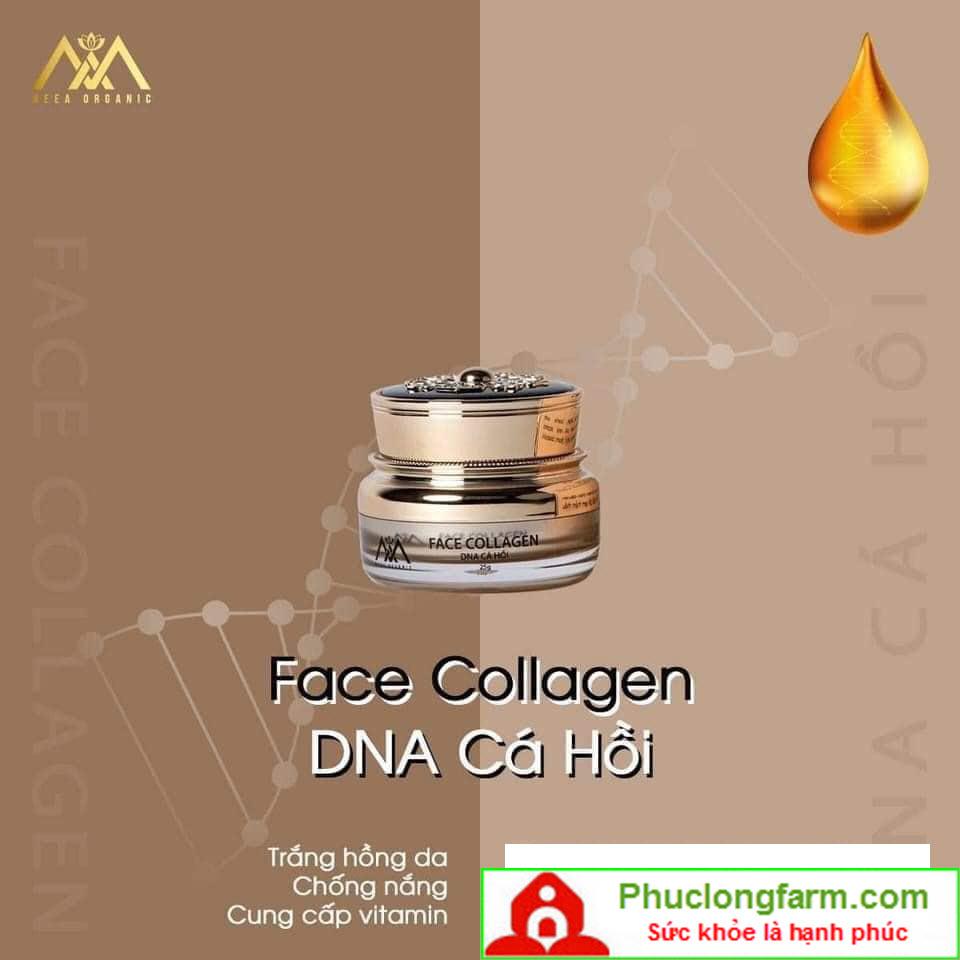 FACE COLLAGEN DNA CÁ HỒI - 350.000 Đ