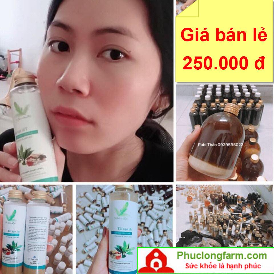 THUỐC BẮC TRỊ MỤN TÁI TẠO DA THẢO RUBI - 250.000 Đ